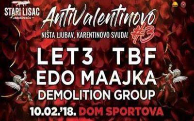 DEMOLITION GROUP BODO NASTOPILI NA FESTIVALU  ANTIVALENTINOVO 3!