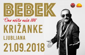 ŽELJKO BEBEK – KRIŽANKE 21.9.2018