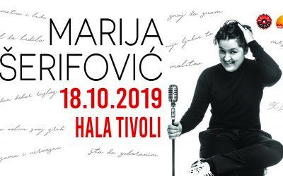 Marija Šerifović prihaja v Ljubljano!